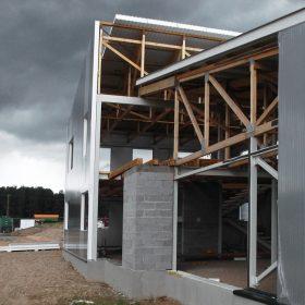 Administratīvās ēkas būvniecība