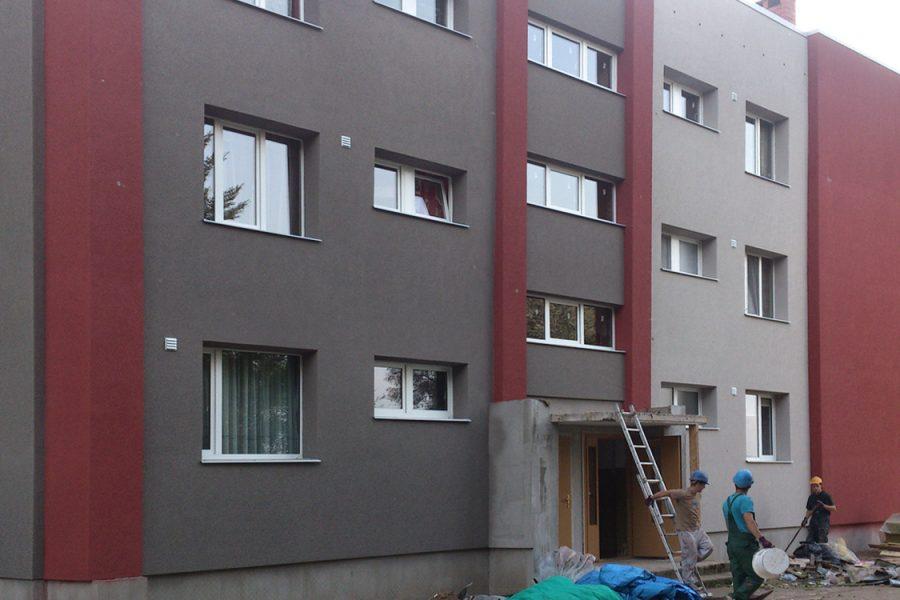 Ēkas rekonstrukcija un siltināšana