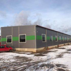 Ražošanas ēkas pārbūve